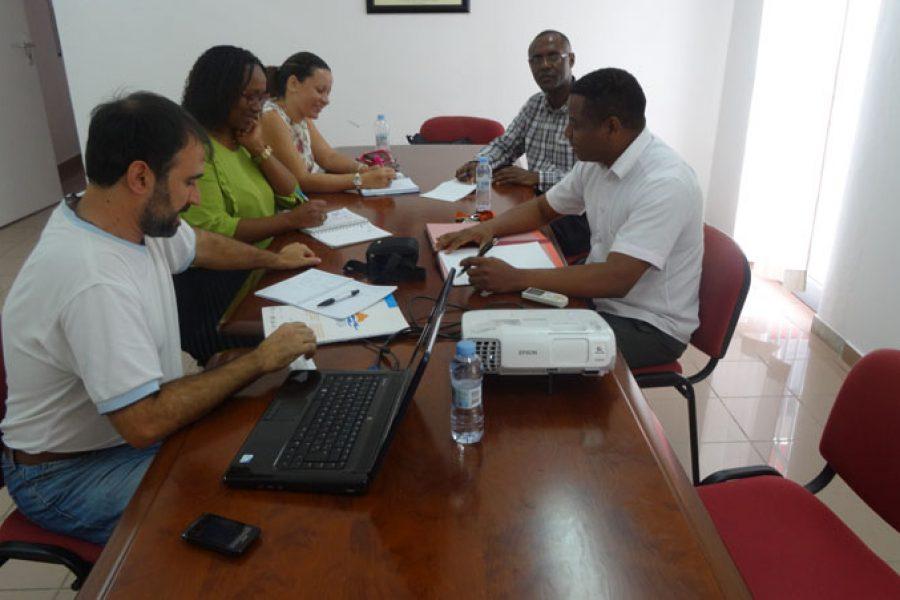 Primera reunión coordinación con Universidad Cabo Verde, 23/02/2017, Cabo Verde