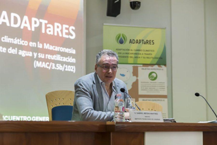 Canarias, Madeira y Cabo Verde abordan el binomio agua y adaptación al cambio climático en el proyecto ADAPTaRES