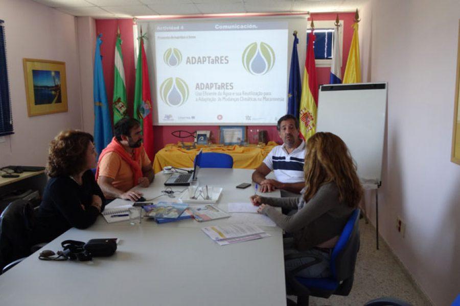 Primera reunión coordinación con Mansureste, 30/03/2017, Gran Canaria