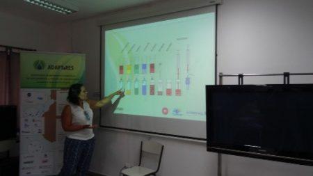 Seminario ADAPTaRES sobre análisis de contaminantes emergentes en aguas (CaboVerde).