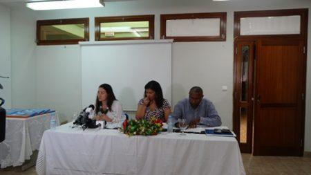 Transferência de material didático para fomento do uso eficiente da água e a prevenção de doenças de origem hídrico na população de Cabo Verde