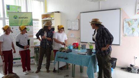 Presentación en Agüimes de Campaña de Sensibilización para 6º de Educación Primaria a través de Taller teatralizado