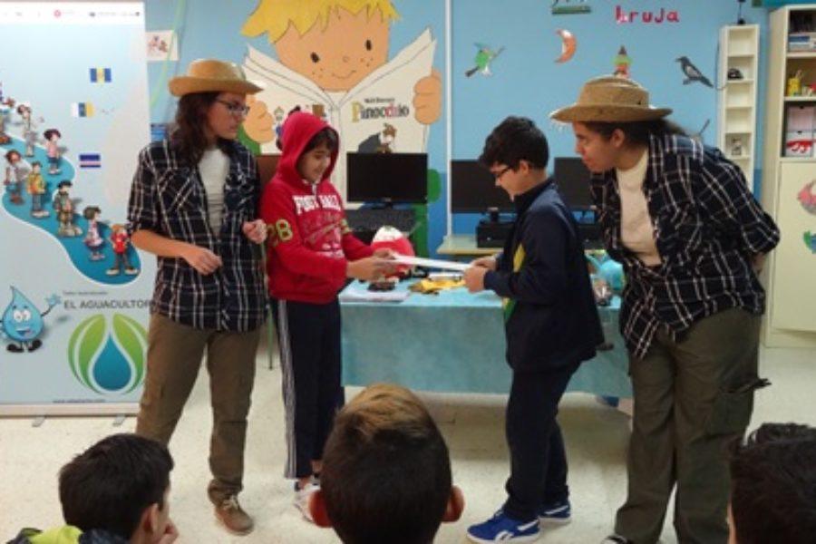 Taller teatralizado «El Aguacultor» para sensibilizar sobre el Cambio Climático y El Agua en La Agricultura