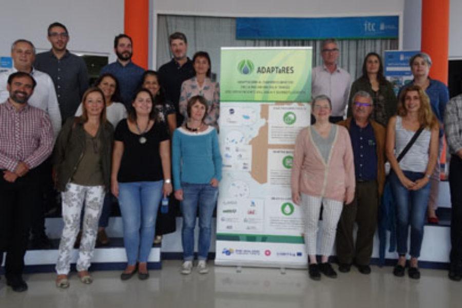 El proyecto ADAPTaRES de cooperación entre archipiélagos de la Macaronesia alcanza el ecuador de su ejecución con resultados favorables