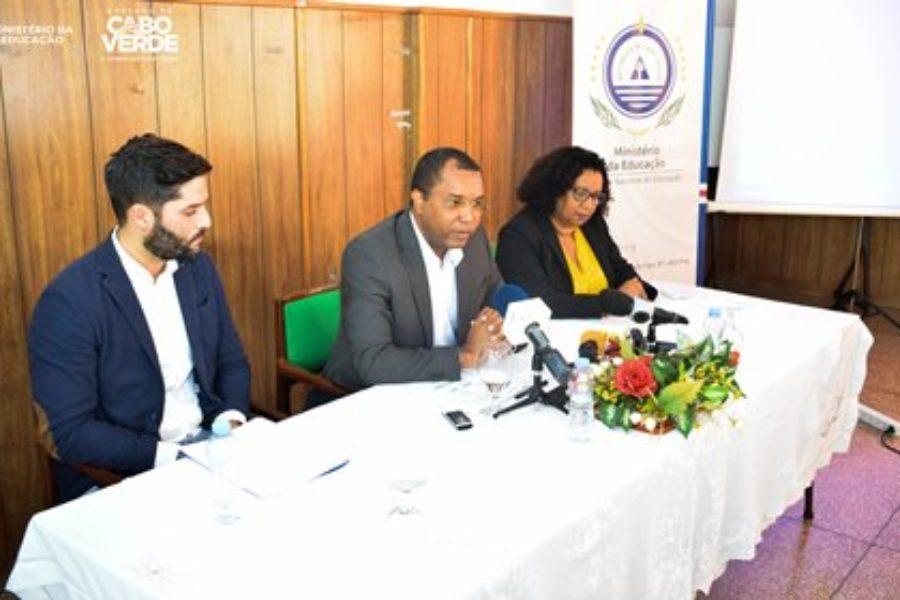 """Lançamento do Curso """"Mudanças Climáticas e o Uso Eficiente da Água"""" em Cabo Verde"""
