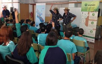 """Vuelven """"Las Aguacultoras"""" a los centros educativos del Sureste de Gran Canaria"""