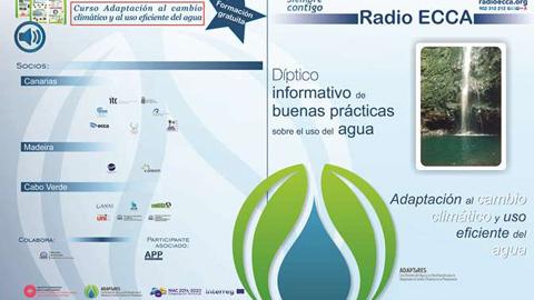 """2ª Edición on-line curso """"Adaptación al Cambio Climático y Uso Eficiente del Agua"""" de ADAPTaRES"""