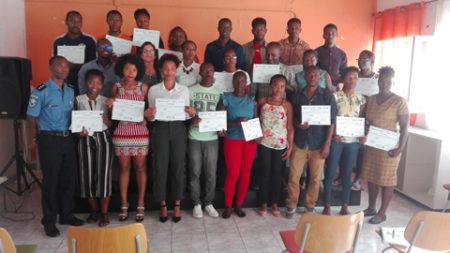 Finaliza el curso sobre» Cambio Climático y uso eficiente del agua» en Cabo Verde