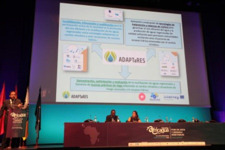 Resultados del proyecto ADAPTaRES en AFRICAGUA