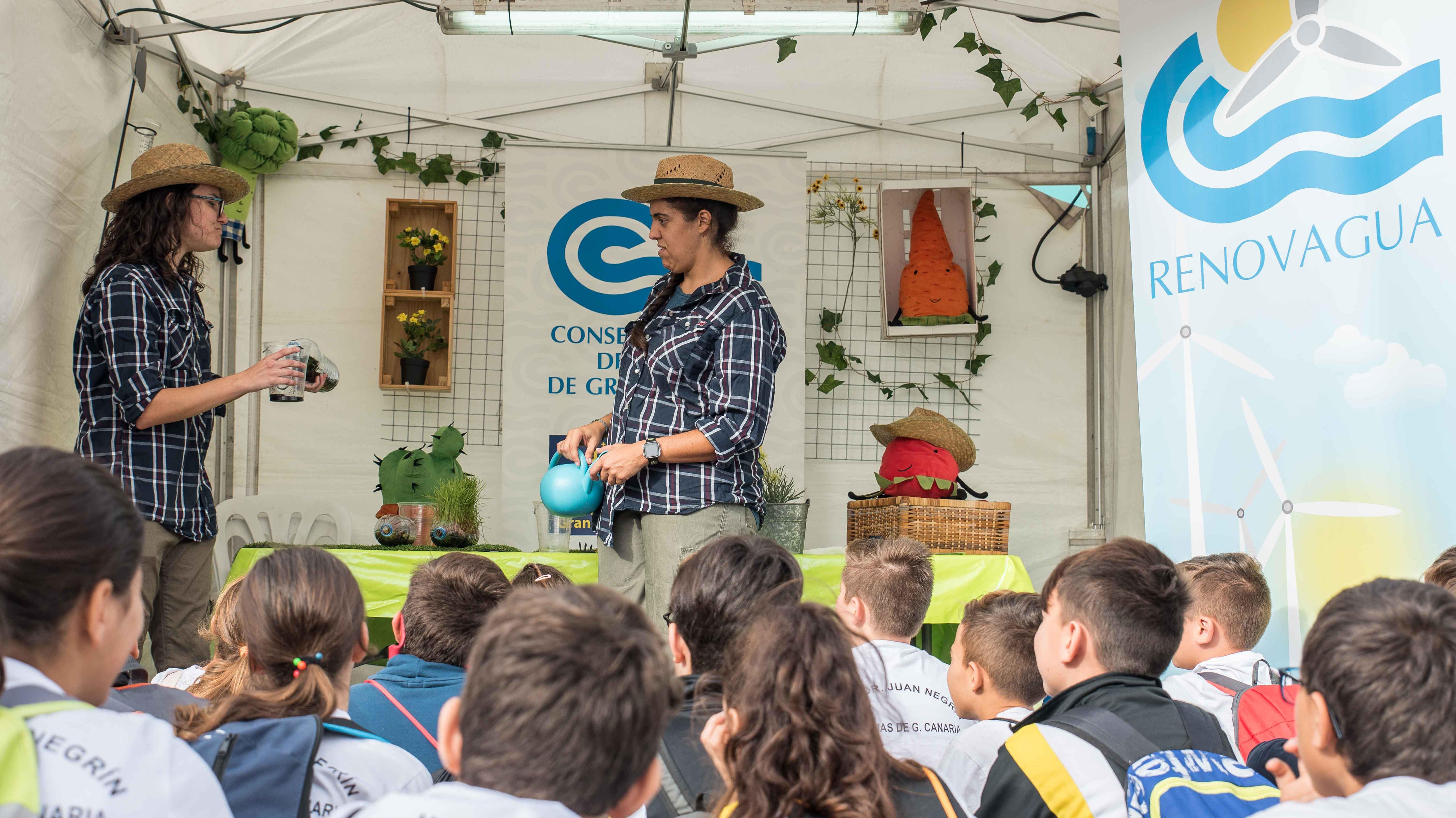 El Taller de 'Las Aguacultoras' llega a más de 1.800 escolares de Gran Canaria en 2019