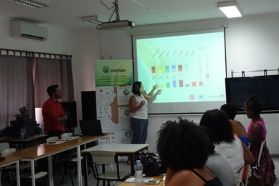 Seminario Formativo sobre contaminantes emergentes y preparación de muestras, 22/06/2017, Cabo Verde