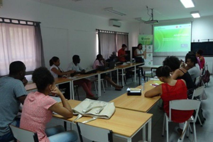 Projeto ADAPTaRES organiza na Uni-CV um Seminário Formativo sobre análises de contaminantes emergentes em águas residuais tratadas