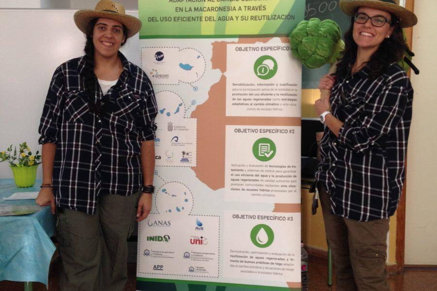 Presentación de la Campaña de Talleres Teatralizados «El Aguacultor» en el municipio de Santa Lucía
