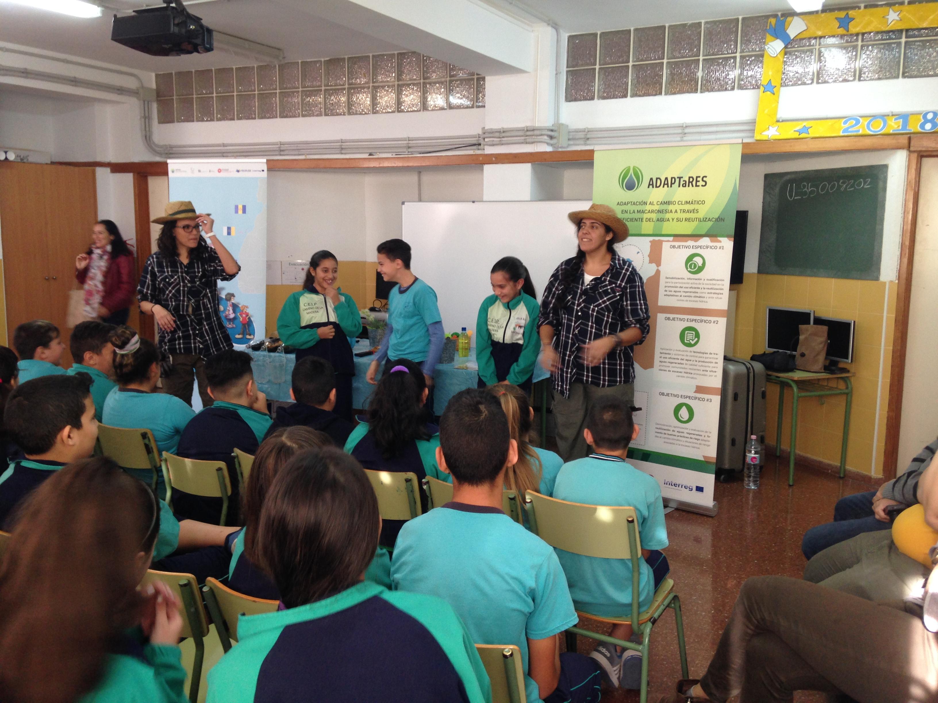 """Presentación de la Campaña de Talleres Teatralizados """"El Aguacultor"""" en el municipio de Santa Lucía"""