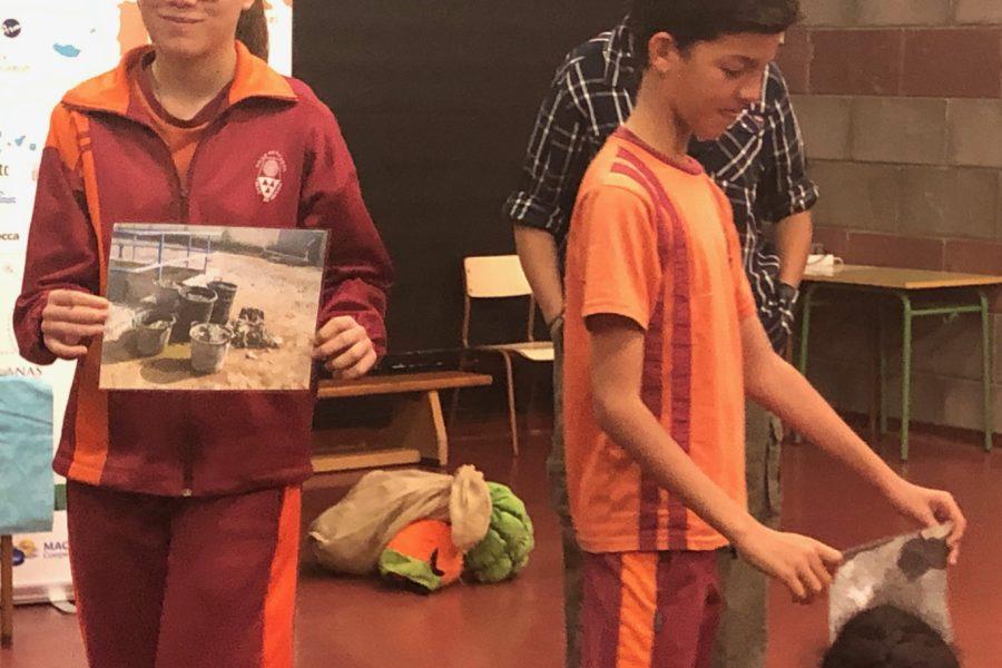 """Presentación de la Campaña de Talleres Teatralizados """"El Aguacultor"""" en el municipio de Agüimes"""