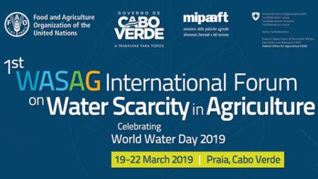 Canarias participa en el 1er Foro Internacional WASAG sobre escasez hídrica y seguridad alimentaria en Cabo Verde