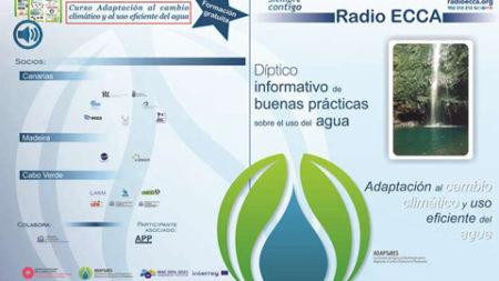 """3ª Edición on-line curso """"Adaptación al Cambio Climático"""" de Radio ECCA"""