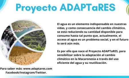 ADAPTaRES invita a participar en sus actividades de sensibilización 2020/2021
