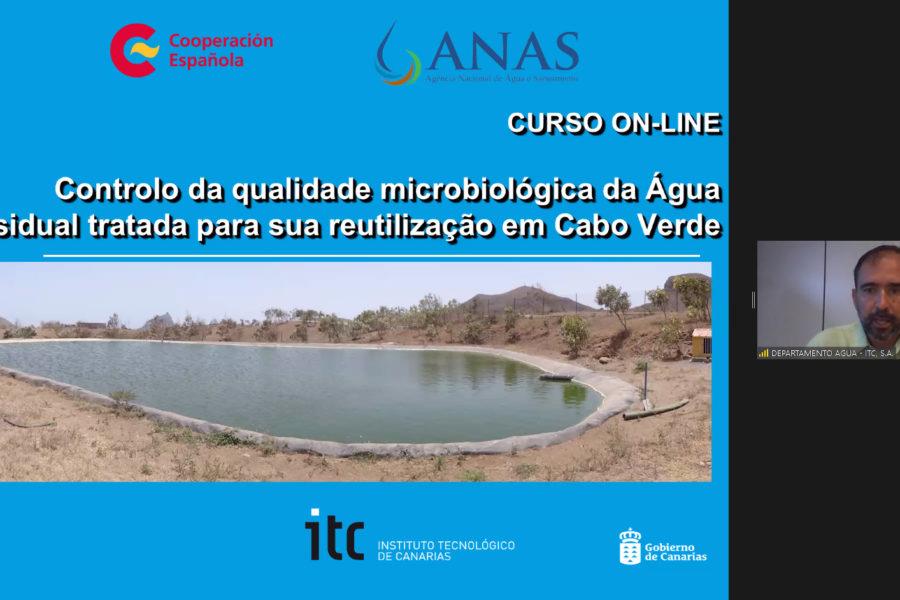 Da comienzo una nueva formación online dirigida al control de la calidad del agua regenerada en Cabo Verde