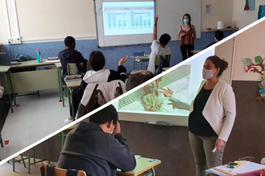 Los talleres escolares de ADAPTaRES ya están en marcha