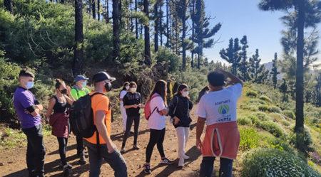 Los ganadores del concurso de ADAPTaRES comparten una convivencia en Gran Canaria para concienciar sobre el Cambio Climático